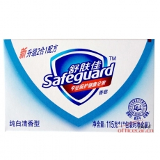 舒肤佳 Safeguard 纯白清香型香皂 115g/块 72块/箱